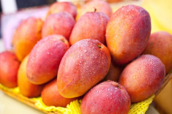 愛文芒果雖然甜度較菲律賓芒為低,但有一陣獨特芳香