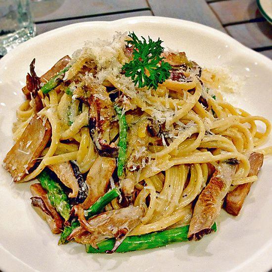雜菌意大利麵($168):各種時令菇菌,撈上白松露油,簡單惹味。