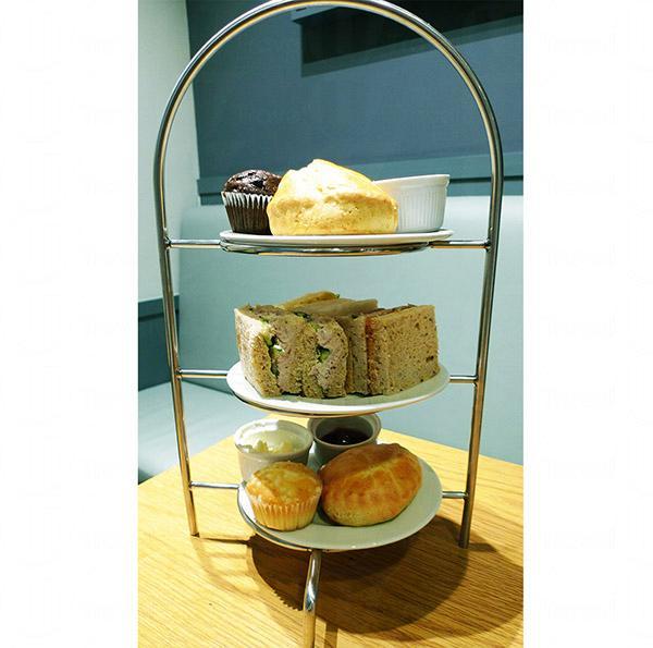 近來香港流行的英式下午茶在M&S Cafe也有提供。