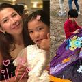 蔡少芬教女有自己一套 訓練女兒做家務學會獨立摵甩公主病