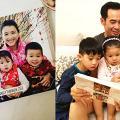 陳茵媺將2000張照片印製成相簿 與陳豪寶貝仔女回顧開心時光
