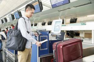 位置一覽!機場自助行李託運系統
