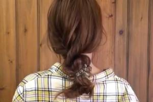 手殘女必學春夏髮型 1條橡筋扭出氣質編髮