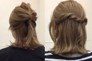 1分鐘扭出氣質 短髮女必學2款快速出門髮型
