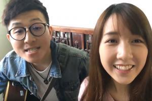香港兄妹檔自彈自唱旅行原創歌 小清新迷倒網民:覺得戀愛了