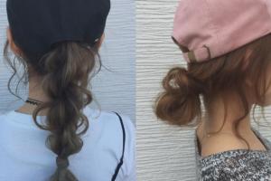 戴Cap帽散發甜美氣質!教你2款簡單戴帽髮型