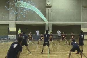 看得見的鬼影變幻球!日本電視台研發東京奧運直播球賽現球軌