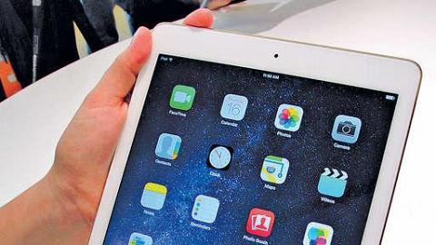 電池縮水 iPad Air 2維修難度高
