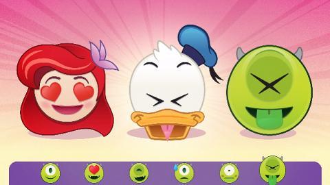 Andriod、iOS都用得!400多款迪士尼Emoji可愛登場