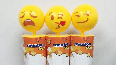搞鬼頭擰擰!Mentos 新出Emoji大頭水果糖