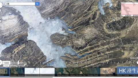 縮時攝影新玩法!Google Earth一秒睇地球32年變化!