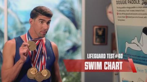 菲比斯客串宣傳《沙灘拯救隊》!晒奧運金牌求過關