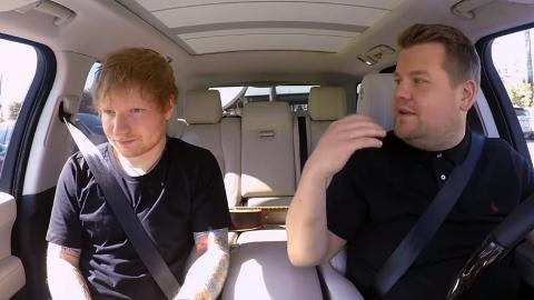Ed Sheeran終於上Carpool Karaoke!即興改歌詞大晒才華
