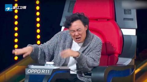 《中國新歌聲》新導師陳奕迅搞怪反應大集合