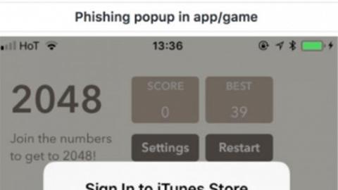 小心密碼被盜!網現像真度極高假Apple ID頁面