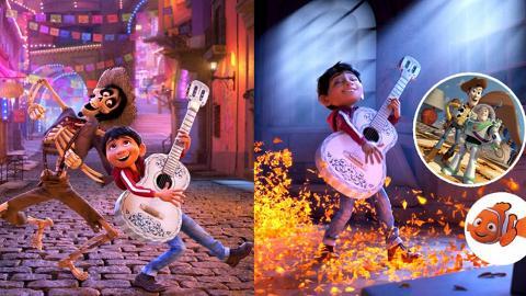 Pixar動畫家族瘋狂穿插 《玩轉極樂園》10個彩蛋