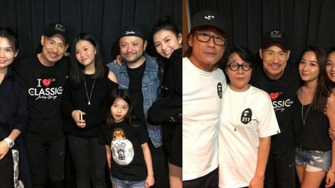 張學友台北個場星光熠熠 集結最靚星二代的臉孔