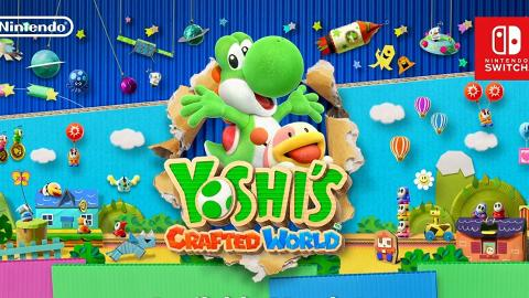 Switch《Yoshi's Crafted World》 2019年3月可愛Yoshi全新大冒險登場!