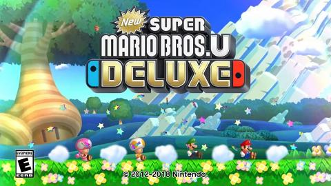 超經典玩法新作《New Super Mario Bros. U Deluxe》 2019年1月登陸Switch!