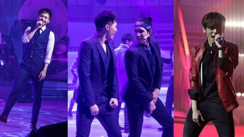 【全民造星】10強名單B組選手人氣高!姜濤、肥仔、Lokman和Ian大展實力