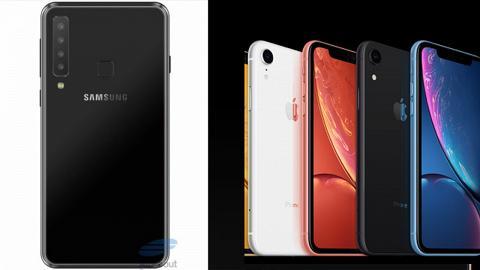 三星推四鏡頭Galaxy A9!出招對撼蘋果新iPhone