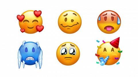 70個新emoji本月有得用!? 凍到震/冧爆樣都有