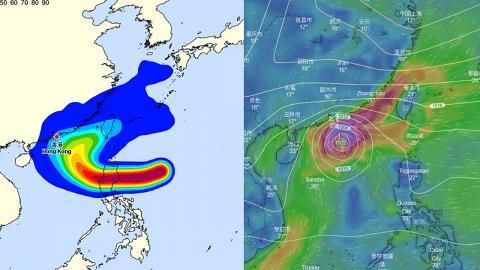 颱風玉兔有機會登陸香港惹恐慌?天文台台長岑智明緊張發文回應