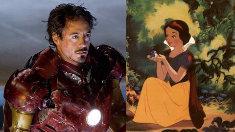 Iron Man與迪士尼人物撞衫!網友笑稱好似白雪公主