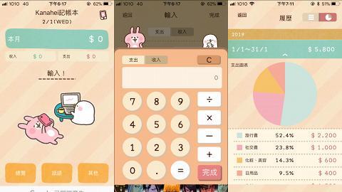 P助與粉紅兔兔理財app 輕鬆記低所有日常開支!