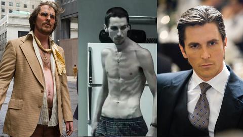 【金球獎2019】為拍戲不惜瘋狂改變身型「前蝙蝠俠」20年間體重鬼影變幻球