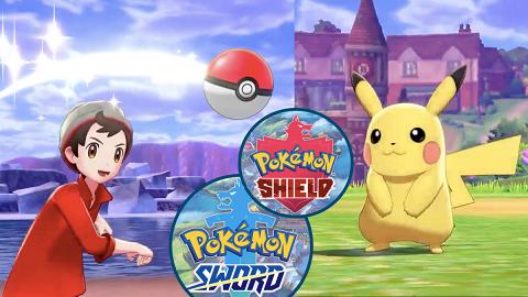 【Switch】11月Pokemon系列《寶可夢 劍・盾》 全新御三家4人合作對戰小精靈