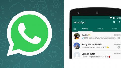 傳WhatsApp推即時過數程式 運作方式+推出日期率先睇
