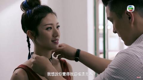 【鐵探】「招喜悅」臥底造型令人眼前一亮 網民讚蔡思貝長髮更勝短髮:更甜美
