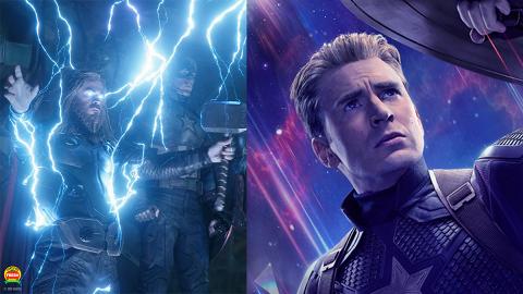 【復仇者聯盟4 劇透】美國隊長拎起雷神之鎚早有伏線 8大Marvel英雄都有拎過!