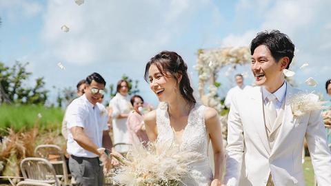 蕭正楠黃翠如婚禮神秘男子難掩興奮 被認錯做洪永城搞到要現身解話