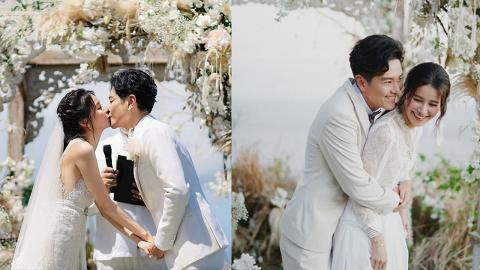 黃翠如蕭正楠婚禮照片每一秒都是唯美 感動誓詞+更多婚禮細節曝光