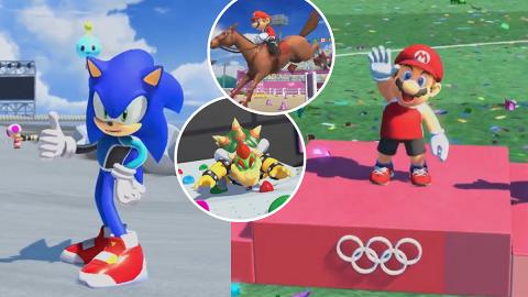 【Switch】《Mario & Sonic AT 東京奧運》11月登場 Mario+超音鼠變選手參賽