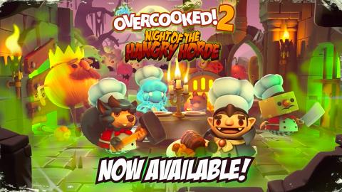 【Switch】Overcooked! 2恐怖主題推出 煮飯餵飽敵人!全新吸血鬼/幽靈廚師