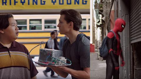 【蜘蛛俠:決戰千里】創意廣告致敬Stan Lee 蜘蛛俠參加科學展靠神盾局出貓?