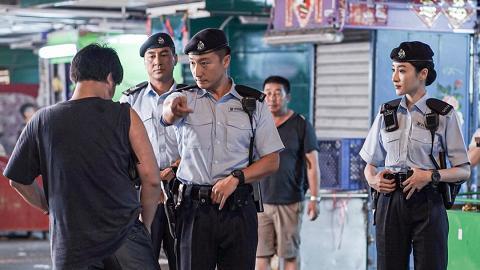 【衝鋒隊2019】傳因警民關係緊張 方力申林夏薇收停拍通知 TVB將損失7位數字