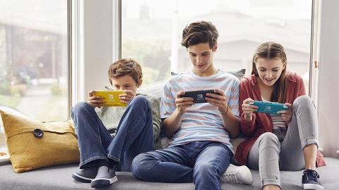 【Switch】任天堂推迷你版新機Nintendo Switch Lite 新增黃、綠2色平舊版$850