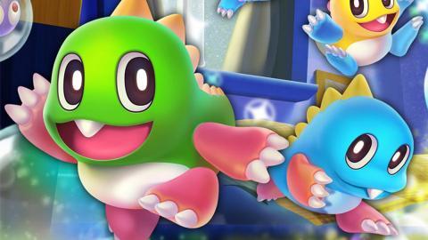 【Switch】童年回憶經典遊戲《泡泡龍》 懷舊畫風傳統玩法!全新4人混戰模式