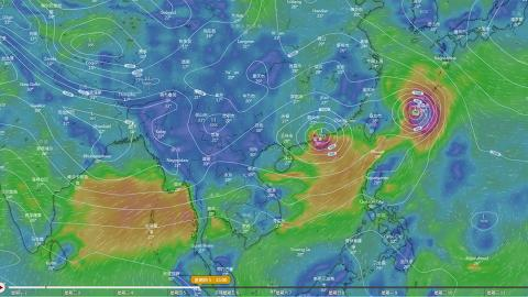 熱帶風暴有機會「掉頭」正面吹襲香港 雙颱風料於本周中期帶來狂風暴雨