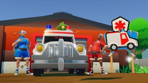 【Switch】《The Stretchers》再度考驗友情 2人合作救護隊!橫衝直撞救傷者