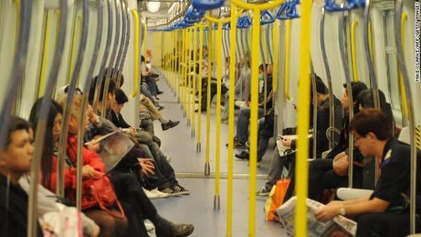 香港公共交通系統發達