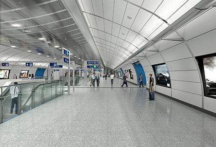金鐘站擴建工程