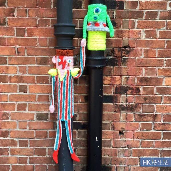 去年在油街的David Bowie毛冷公仔。(圖片由la Belle Epoque提供)