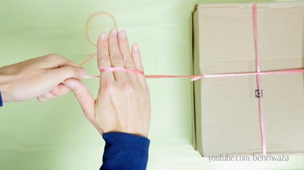 冇鉸剪都唔怕!3秒極速空手割斷尼龍繩麻繩