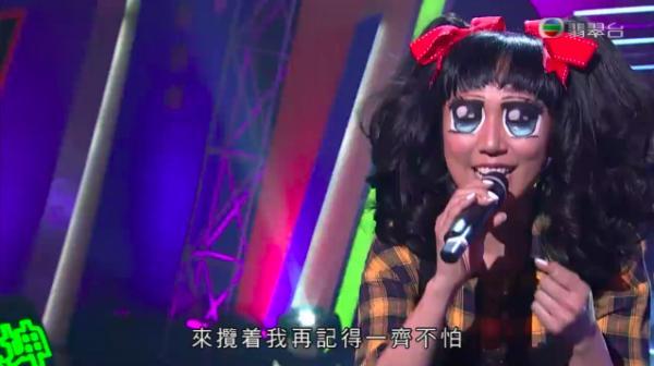 鍾舒漫浮誇卡通大眼妝奪Cosplay大獎  2017勁歌優秀選得獎歌出爐