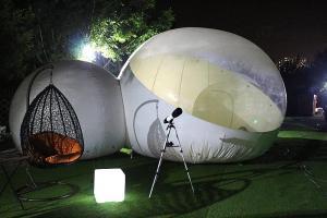 名樂漁莊透明波波及充氣酒店